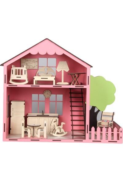 Akıllı Karınca Ahşap Oyuncak Ev