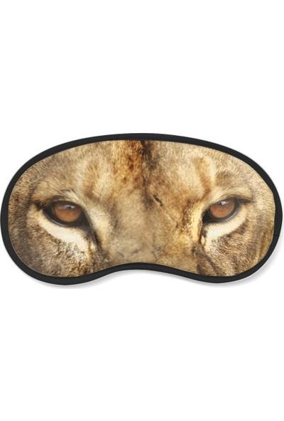 Wuw Aslan Gözü Uyku Göz Bandı
