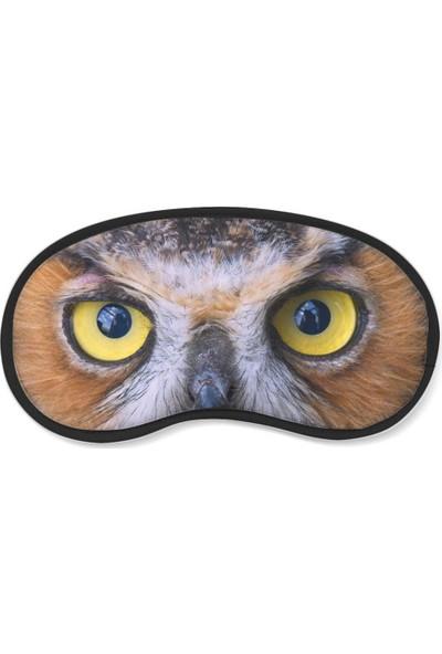 Wuw Baykuş Gözü Uyku Göz Bandı