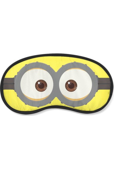 Wuw Minions Gözlü Uyku Göz Bandı