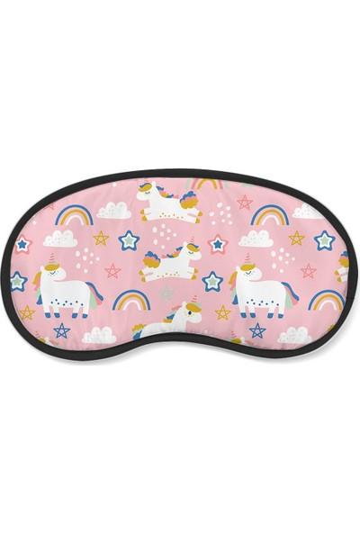 Wuw Unicorn Uyku Göz Bandı