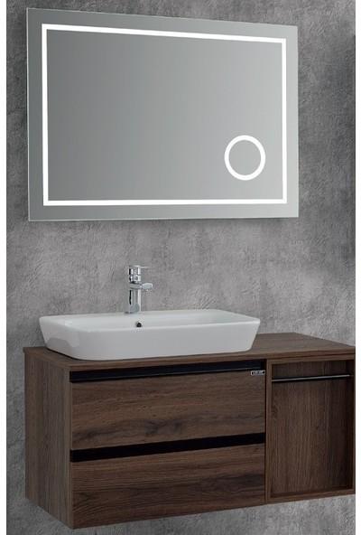 Lineart Luna 100 cm Banyo Dolabı Navarro
