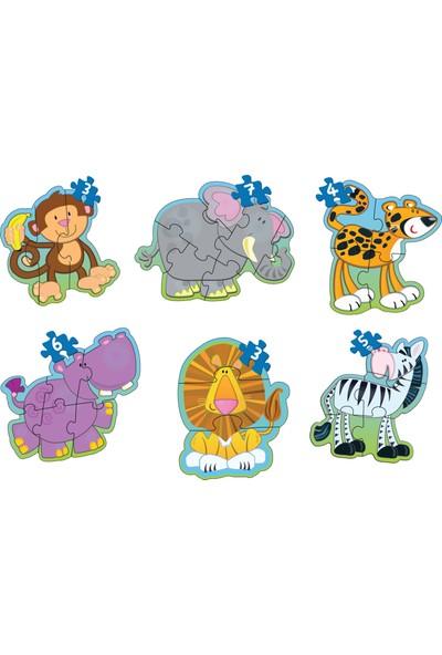 Diy-Toy Baby Puzzle İlk Hayvanlarım