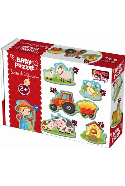 Diy-Toy Baby Puzzle Çiftlik Hayvanları