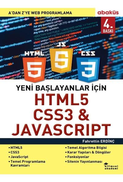 Yeni Başlayanlar için Html5 Css3 & Javascrıpt - Fahrettin Erdinç