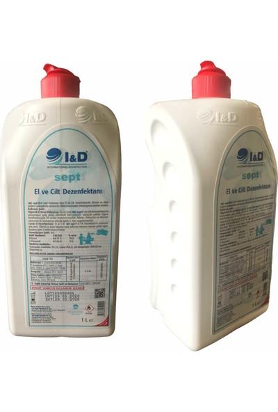 I&D Sept El ve Cilt Dezenfektanı 1 lt