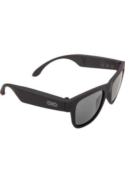OxO Akıllı Güneş Gözlüğü BITTER (Siyah Cam)