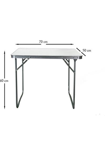 Hastunc Katlanabilir Masa Takımı (Masa+2 Adet Sandalye)