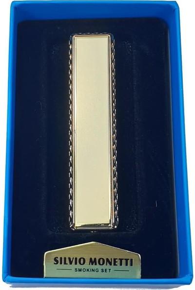 Silvio Monetti Sm S3030GL USB Şarjlı Elektronik Elektrikli Çakmak
