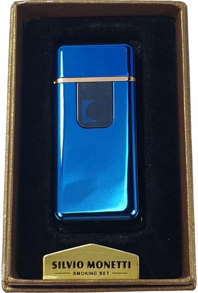 Silvio Monetti Sm S3070BU USB Şarjlı Elektronik Elektrikli Çakmak