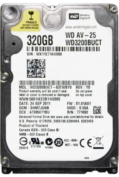"WD 320GB 5400RPM 16MB 2.5"" Sabit Disk (WD3200BUCT)"