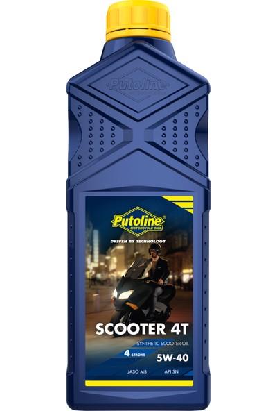 Putoline Scooter 4t 5W-40 Sentetik Motor Yağı 1 lt
