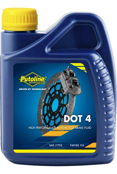 Putoline Fren Hidrolik Yağı Dot 4 500 ml