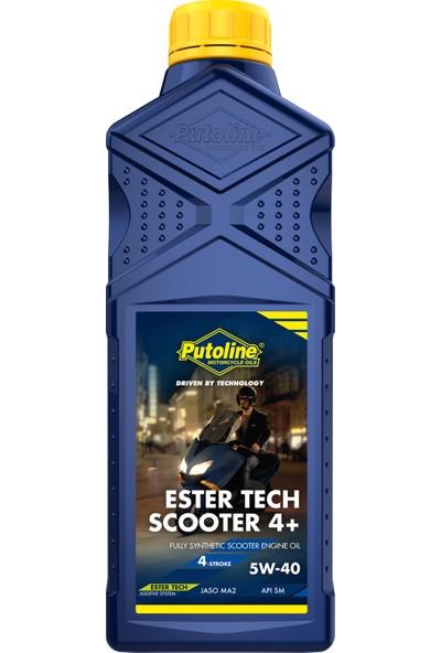 Putoline Ester Tech Scooter 4+ 5W-40 1 lt Motor Yağı