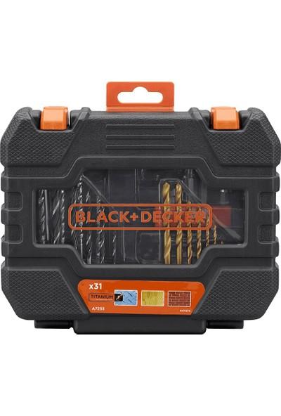 Black Decker A7233 Titanyum Matkap Ucu Seti 31 Parça