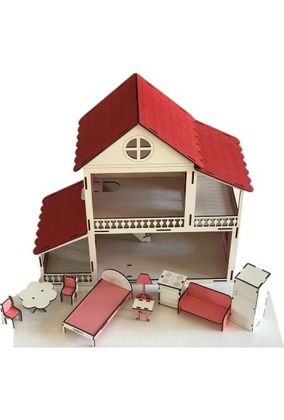 Milastoys Peri Rüya Ahşap Çocuk Oyun Evi 2 Katlı
