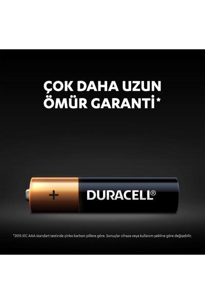 Duracell Alkalin AAA Kalem Piller, 10'lu paket