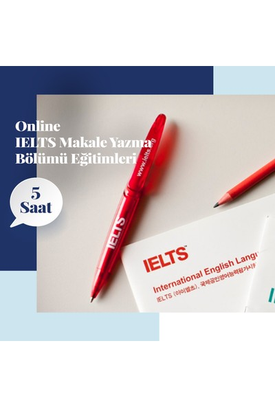 Amerikan Dili Edebiyatı Yabancı Dil Kursları Ielts Online Makale Yazma Bölümü Eğitimleri - 5 Saat
