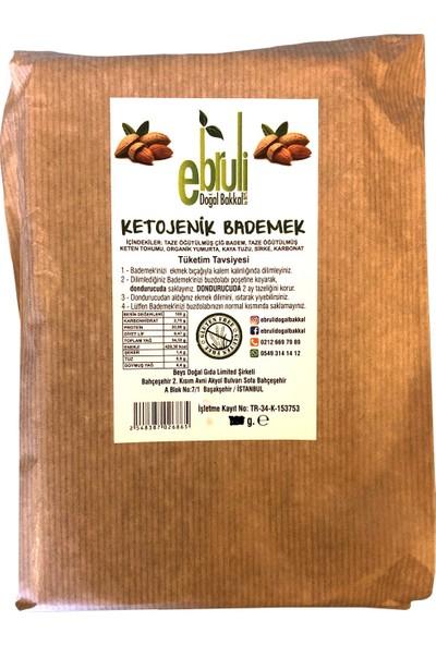 Ebruli Doğal Bakkal Ketojenik Glutensiz Badem Ekmek - Bademek 360 gr x 2'li