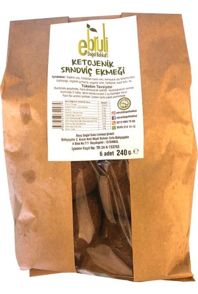 Ebruli Doğal Bakkal Ketojenik Sandviç Ekmek 240 gr
