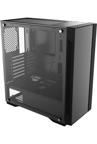 Deep Cool Matrexx55 V3 ADD RGB 3F E-ATX / ATX / Mikro ATX / Mini-ITX Bilgisayar Kasa - Siyah