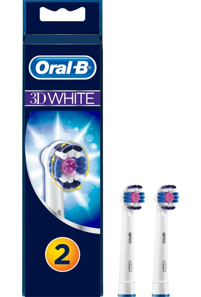 Oral-B 3D White 2'li Diş Fırçası Yedek Başlığı