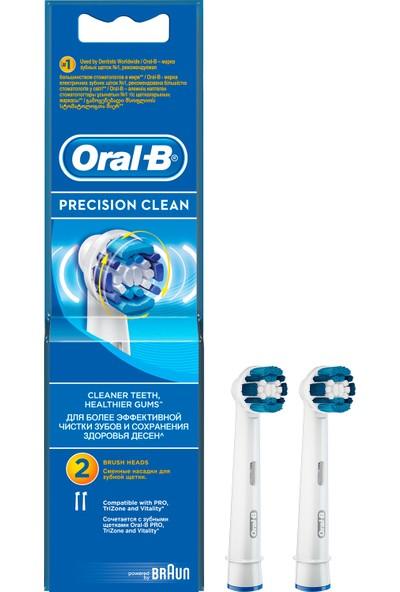 Oral-B Precision Clean 2'li Diş Fırçası Yedek Başlığı