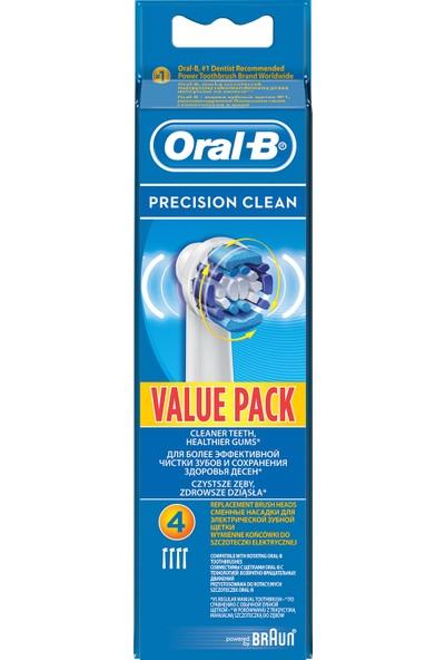 Oral-B Precision Clean 4'lü Diş Fırçası Yedek Başlığı