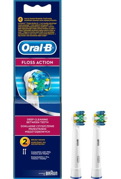 Oral-B Floss Action 2'li Diş Fırçası Yedek Başlığı
