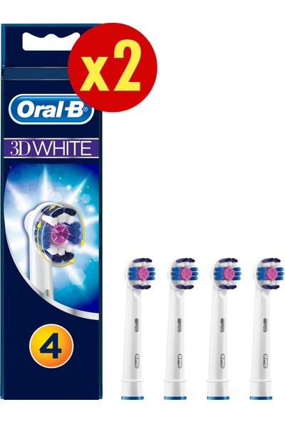 Oral-B 3D White 8'li Diş Fırçası Yedek Başlığı