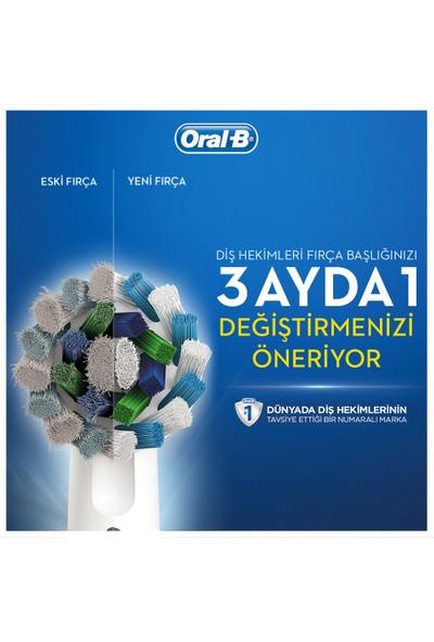 Oral-B 8'li Diş Fırçası Yedek Başlığı Fırsat Paketi (3D White 4 Adet + Cross Action 4 Adet)
