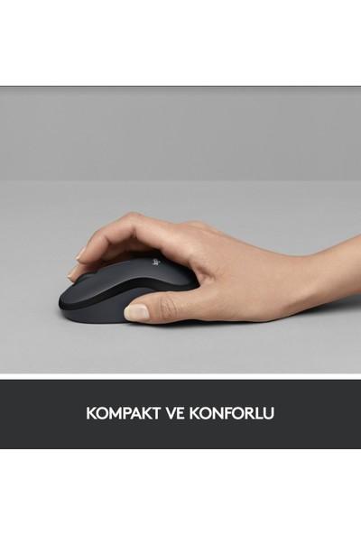 Logitech M220 Sessiz Kablosuz Mouse-Mavi