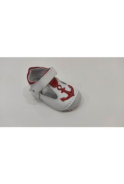 Teo Bebe İlkadım Deri Erkek Bebek Ayakkabısı