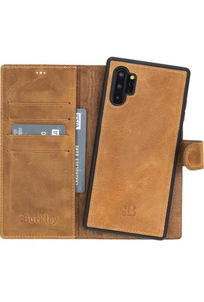 Burkley Mw Deri Telefon Kılıfı Samsung Galaxy Note 10 Plus G19 Kahve