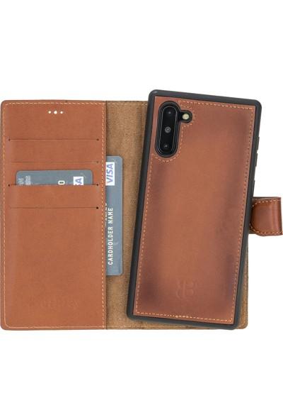 Burkley Mw Deri Telefon Kılıfı Samsung Galaxy Note 10 RST2EF Taba