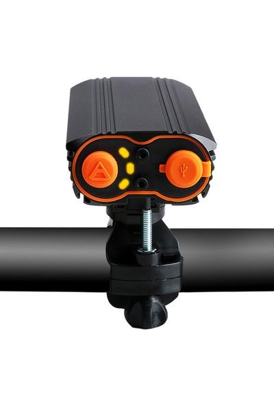 Vision Xml-T6 2x 1600 Lümens Su Geçirmez Bisiklet Feneri