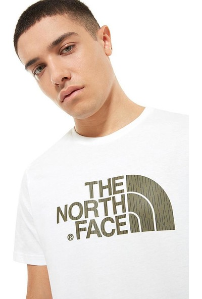 The North Face Easy Erkek T-Shirt Beyaz