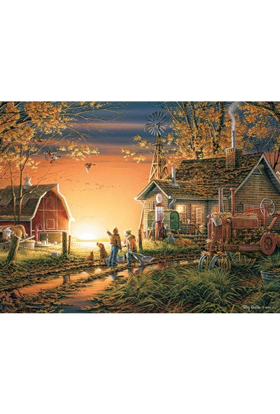 White Mountain Puzzle: Morning Surprise 1000 Parça Puzzle