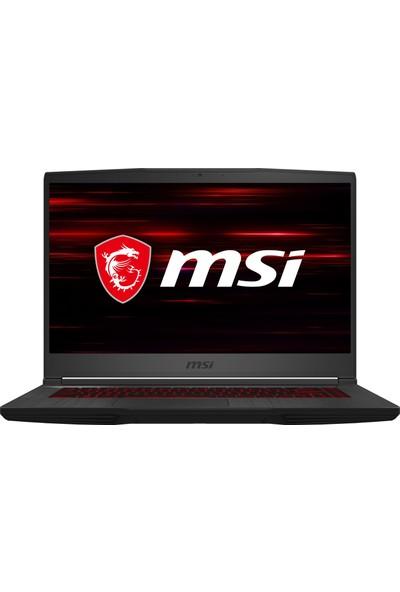 """MSI GF65 Thin 10SDR-638XTR Intel Core i5 10300H 8GB 512GB SSD GTX1660Ti Freedos 15,6"""" FHD Taşınabilir Bilgisayar"""