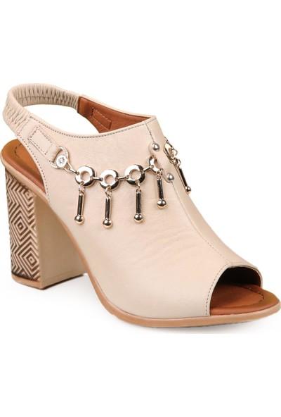 Pierre Cardin Kadın Topuklu Sandalet