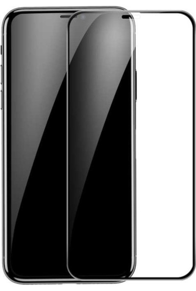 AZR Apple iPhone 11 Pro Max Mat 5D Ekran Koruyucu