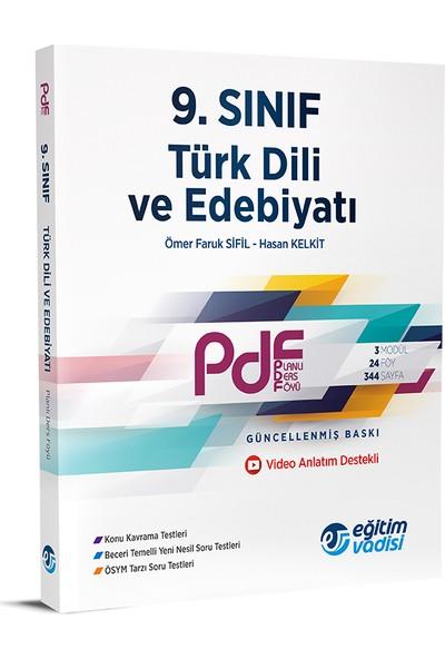 Eğitim Vadisi 9.Sınıf PDF Türk Dili Ve Edebiyatı Video Anlatım Destekli