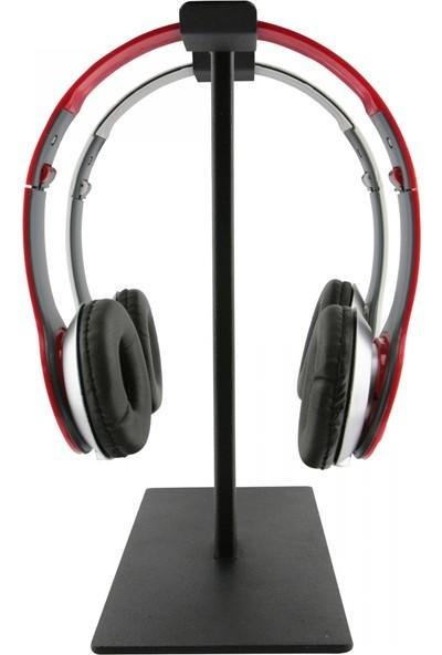 Nettech Metal Ikili Kulaklık Standı-Profesyonel Oyuncu Kulaklık Standı