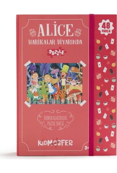 Kidmosfer Alice Harikalar Diyarında Puzzle (Yapboz)
