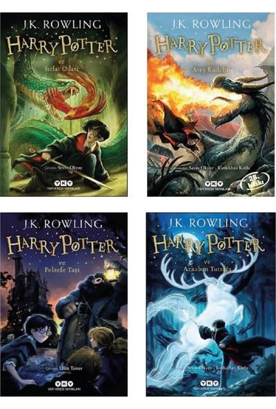 Harry Potter 1-2-3-4 Set Ilk 4 Kitap