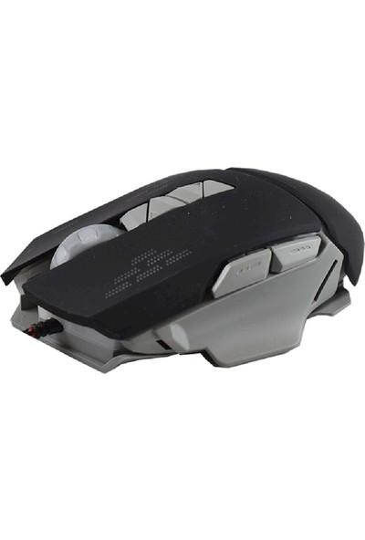 Powerstar Gm-04 Kablolu Işıklı Mouse Siyah