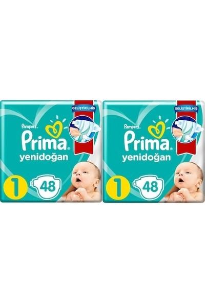 Prima Aktif Bebek Bebek 1 Beden 96'lı 2 x 48'li Standart Paket