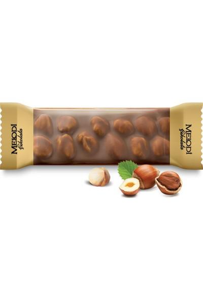 Melodi Çikolata Sütlü Fındıklı Beyoğlu Çikolatası 12 x 30 gr
