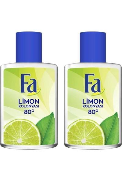 Fa Limon Kolonyası 200 ml x 2 Adet