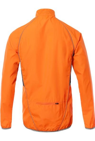 Arsuxeo Erkekler Yansıtıcı Bisiklet Ceket Nefes Uzun Kollu